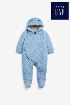 Gap Baby Quilted Romper With Ears