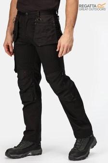 Regatta Black Incursion Holster Workwear Trousers