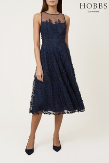 Hobbs Blue Felicity Dress
