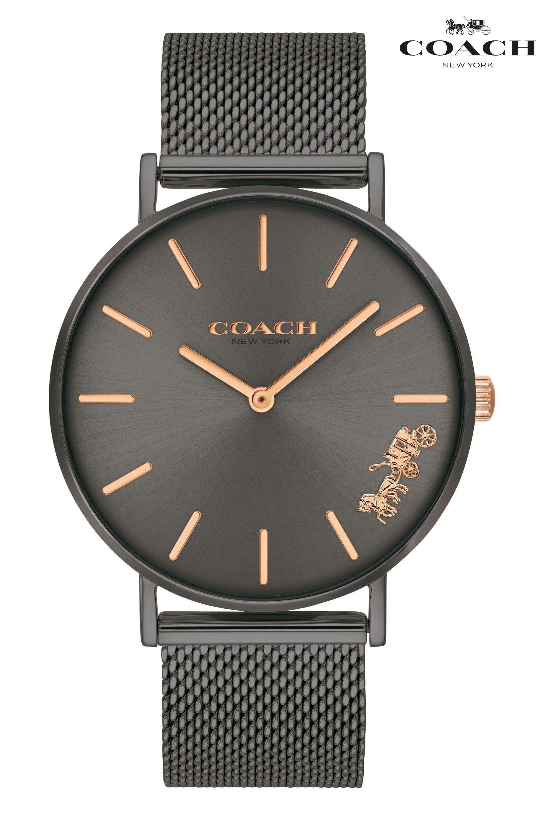 Coach Mesh Perry Watch