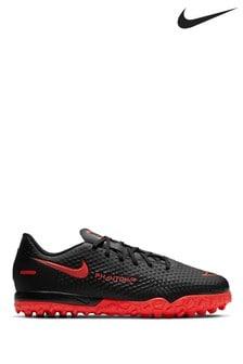 Nike Black Phantom GT Academy Turf Junior and Youth Football Boots