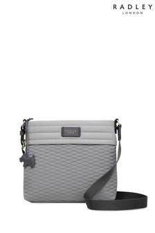 Radley London Grey Penton Mews Colourblock Medium Cross Body Bag