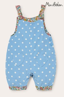 Boden Blue Cord Dungarees