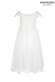 Monsoon Cream Estella Dress
