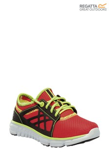 Regatta Red Marine Sport Junior Trainers