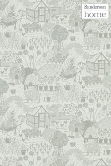 Sanderson Home The Allotment Wallpaper