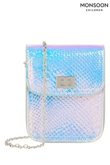 Monsoon Silver Sylvie Hollogram Bumbag