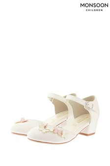 Monsoon Ivory Lilly Butterfly Two Part Shoes