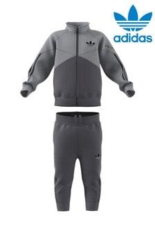adidas Originals Infant Grey Sport Tracksuit