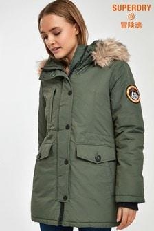 Superdry Khaki Everest Jacket