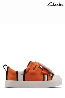 Clarks Orange City Nemo Canvas Shoes