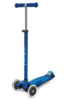 Micro Scooter Maxi Deluxe LED Navy Scooter 5-12 Years
