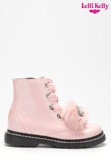Lelli Kelly Pom Pom Unicorn Boots