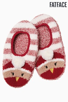FatFace Red Robin Cosy Footsies