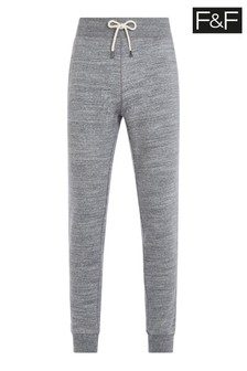 F&F Grey Textured Joggers