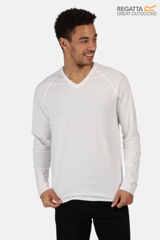 Regatta Kiro II V-Neck Long Sleeve T-Shirt