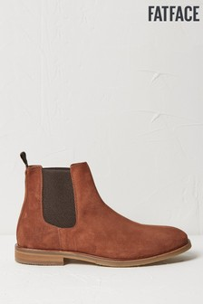 FatFace Brown Charles Suede Chelsea Boots