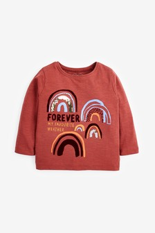 Sequin Rainbow T-Shirt (3mths-7yrs)