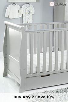 Obaby Stamford Classic 3 Piece Warm Grey Furniture