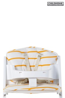 Childhome Baby Grow Chair Cushion Jersey Ochre Stripes