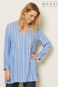 Masai Blue Ibene Shirt