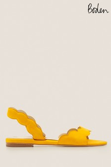 Boden Yellow Estella Slingback Sandals