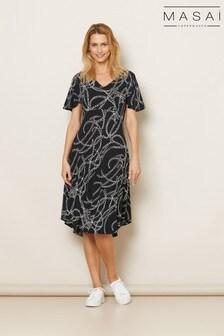 Masai Black Nanette Dress