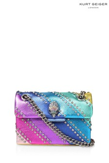 Kurt Geiger London Crystal Mini Kensington Rainbow Bag