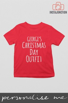 Personalised Christmas Day T-Shirt by Instajunction