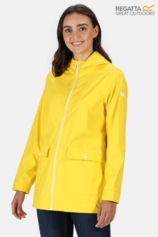 Regatta Yellow Takala II Transparent Waterproof Jacket