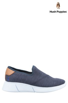 Hush Puppies Blue Makenna Slip-On Shoes