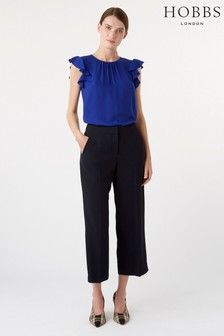 Hobbs Blue Lula Trousers