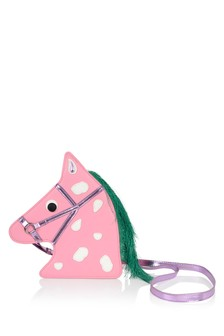 Girls Pink Horse Shoulder Bag