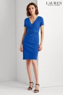 Lauren Ralph Lauren® Blue Alexie Stretch Dress
