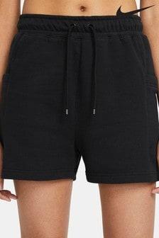 Nike Black Air Fleece Shorts