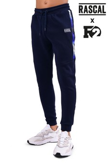 Rascal Blue Gradient Tape Joggers