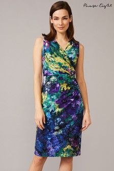 Phase Eight Multi Beau Printed Dress