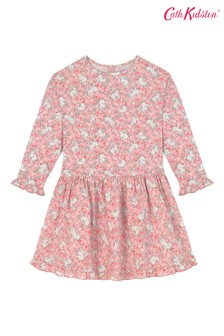 Cath Kidston® Pink Jumping Bunnies Dress
