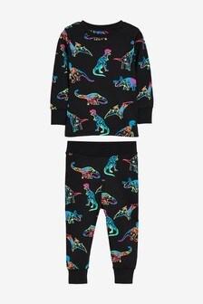 Fluro Dino Snuggle Pyjamas (9mths-8yrs)