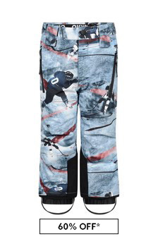 Boys Blue Ice Hockey Ski Trousers