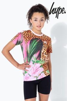 Hype. Leopard Spot Kids T-Shirt