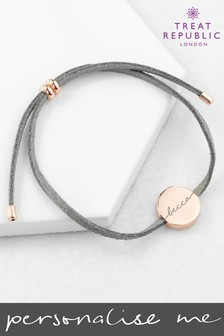 Personalised Always With You Name Bracelet by Treat Republic