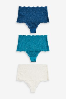 Lace Knickers 3 Pack