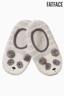 FatFace Grey Racoon Cosy Footsies