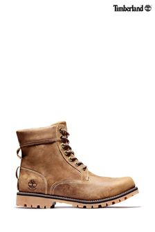 Timberland® Brown Rugged Leather Waterproof II 6 Inch Boots