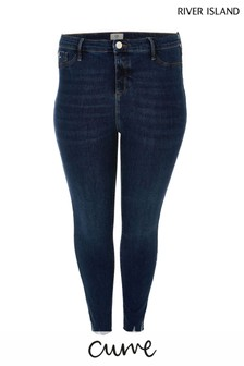 River Island Denim Molly Mid Rise Tuscany Jeans