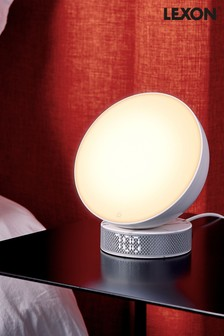 Lexon Miami Sunrise Light Therapy Alarm Clock
