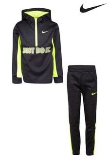 Nike Little Kids Black JDI. Hoody And Joggers Set