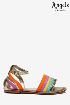 Angels by Accessorize Multi Rainbow Sandals