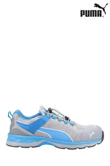 Puma Safety Grey/Blue Xcite Low Toggle Safety Trainers
